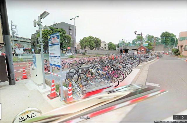 小竹向原駅南自転車駐車場