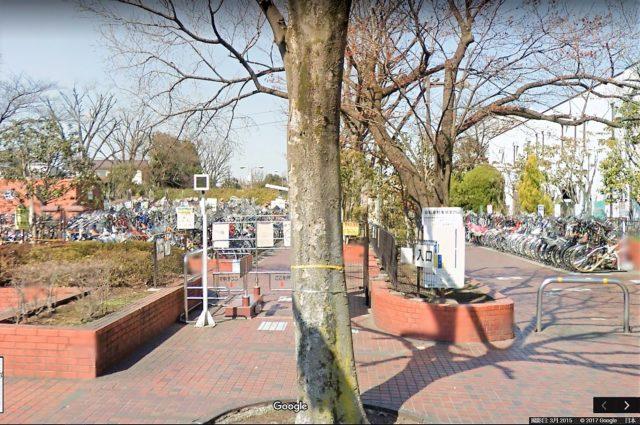 小竹向原駅自転車駐車場(練馬区)