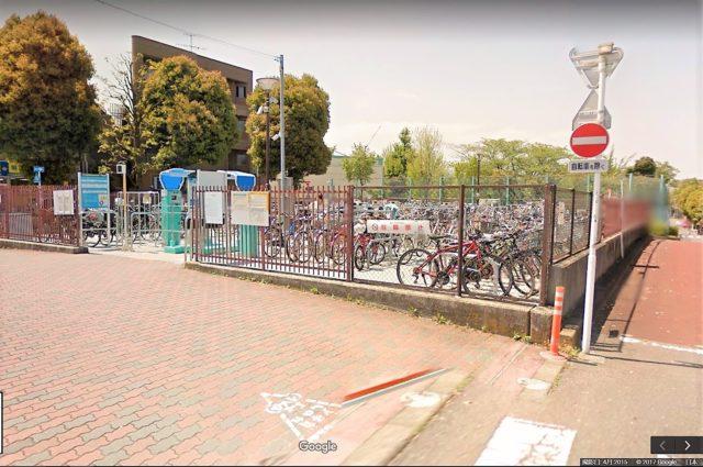 小竹向原駅自転車駐車場