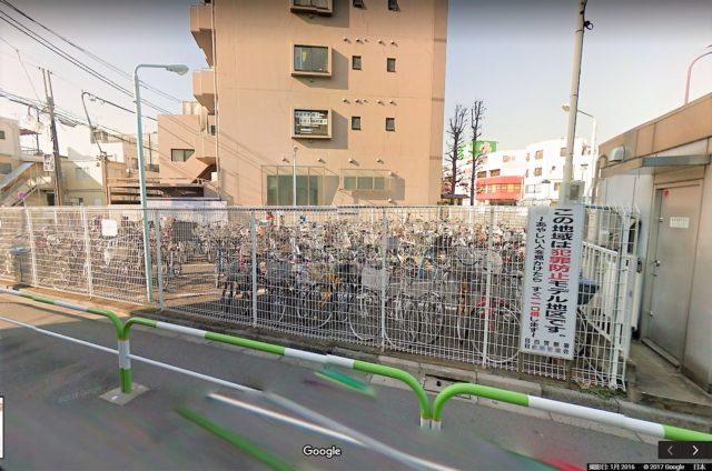 千川駅西自転車駐車場