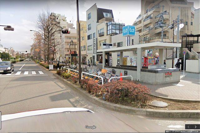 千川駅路上自転車駐車場