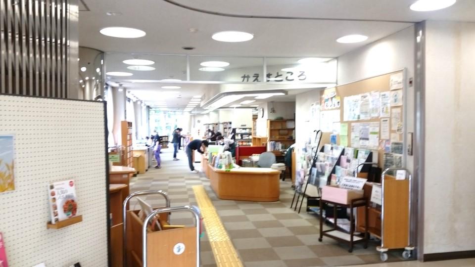 小竹向原 小茂根図書館_01入口02