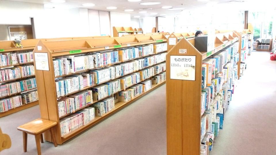 小竹向原 小茂根図書館_02児童コーナー01