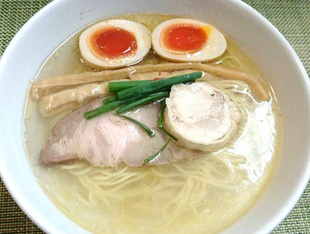 小竹向原 麺や金時 味玉塩らぁ麺