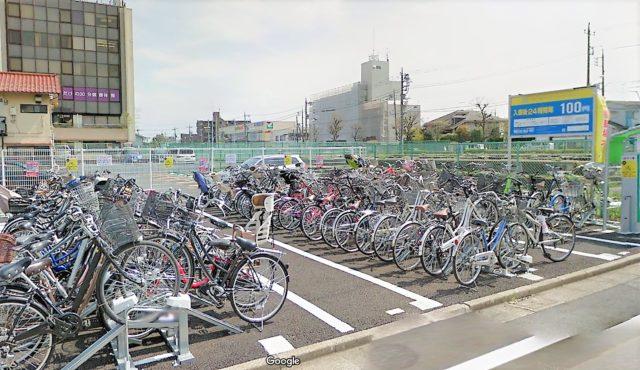 チャリスタ平和台駅前駐輪場