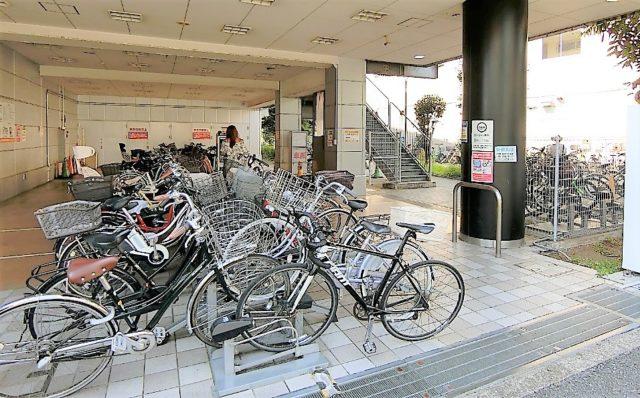 テックランド平和台駅前駐輪場