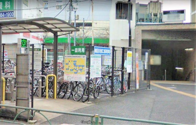 氷川台駅第二自転車駐車場