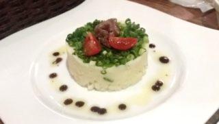 小竹向原 ぶどうの根っこ 08料理 アンチョビポテトサラダ