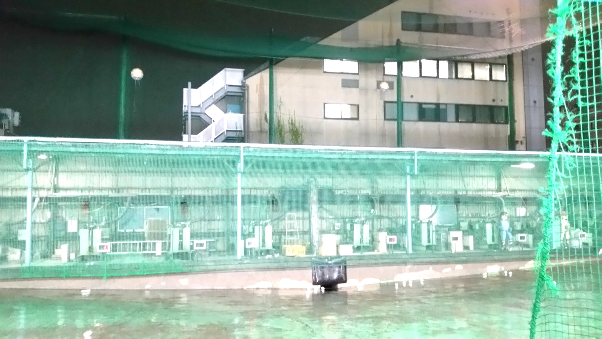 平和台_春日町バッティングセンター_07打席
