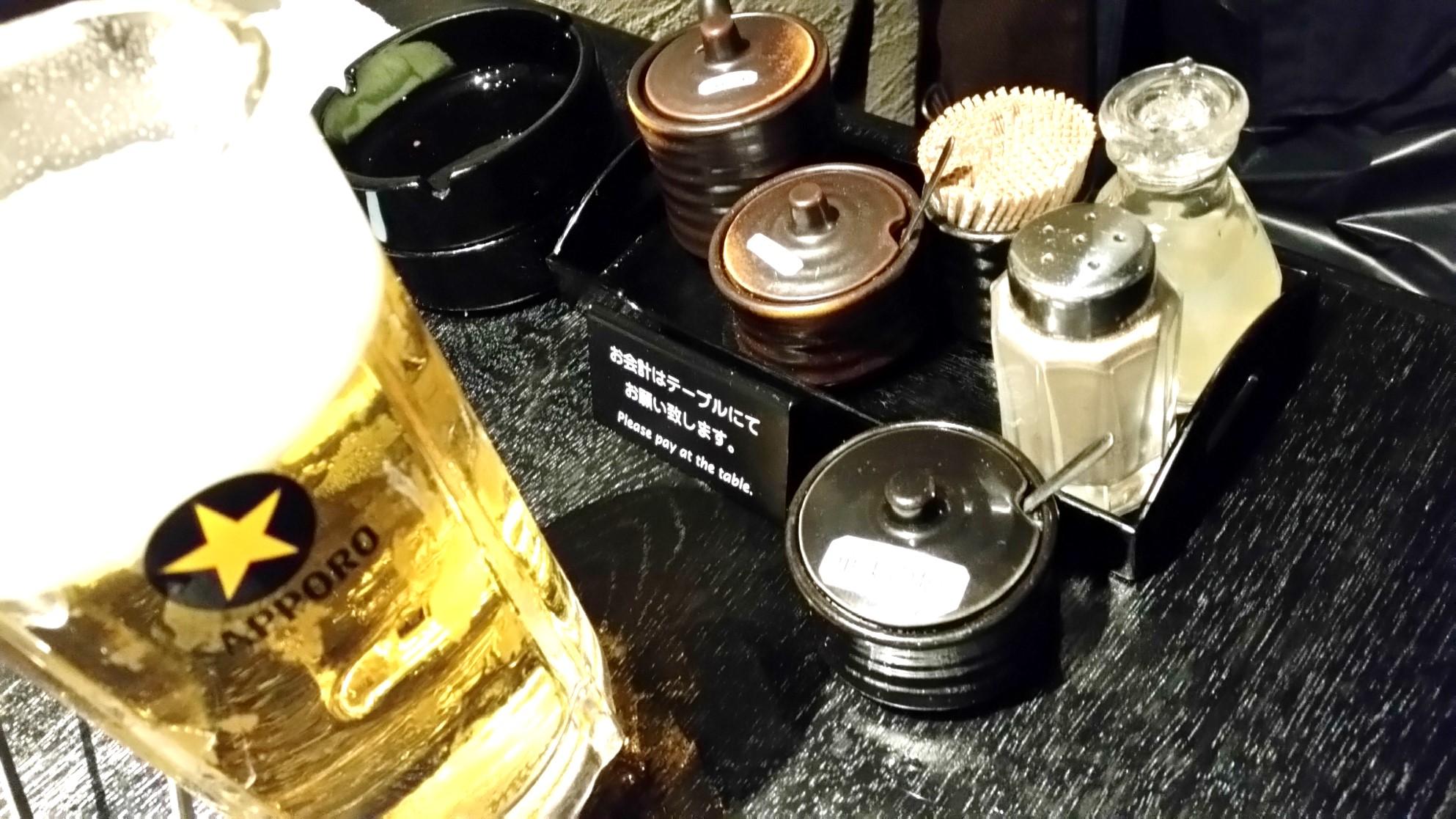 小竹向原 焼肉 やなか 04ドリンク01ビール