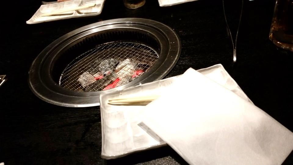 小竹向原 焼肉 やなか 06焼き場